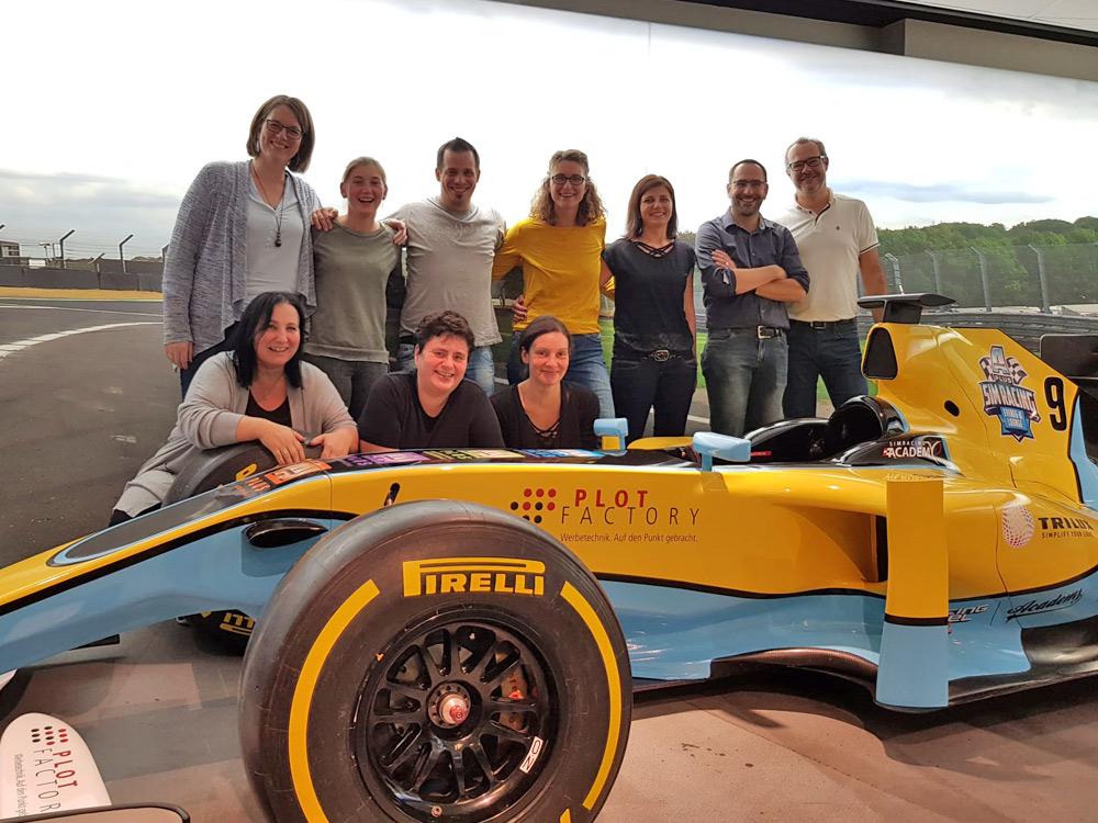 Team-Event: Das coole Team von Landi ZOLA
