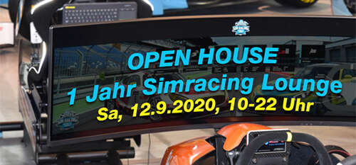 Open House – 1 Jahr Simracing Lounge
