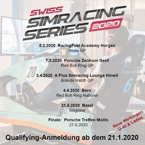 Swiss Simracing Series 2020