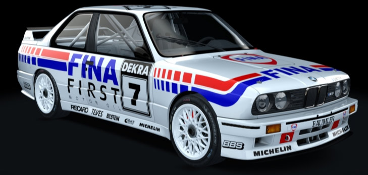 A Plus BMW E30er Simracing-Cup