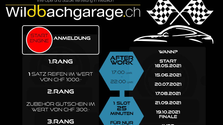 Tuesday AfterWork Racing: Wildbachgarage-Cup