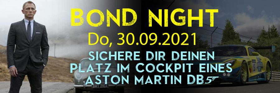 Bond Night am 30. September 2021