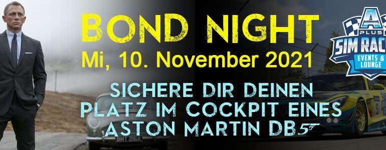 Bond Night am 10. November 2021